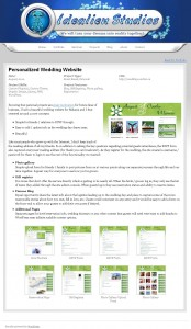 Detailed documentation per piece