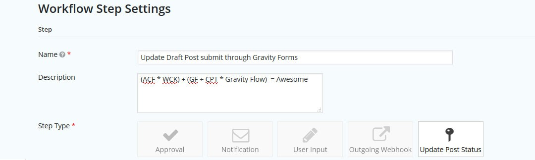 Going with the Gravity Flow – Custom Step Types